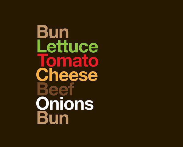 type burger