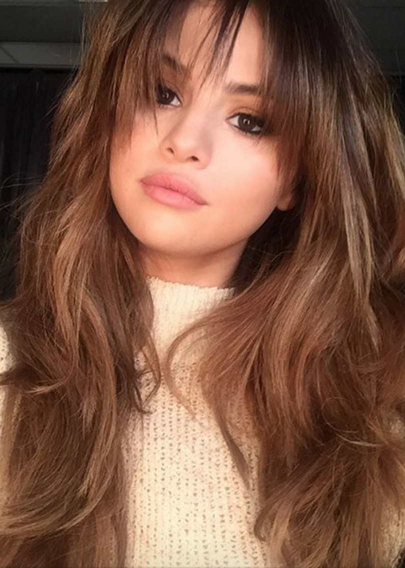 the best bangs for your face shape | hairstyles | selena