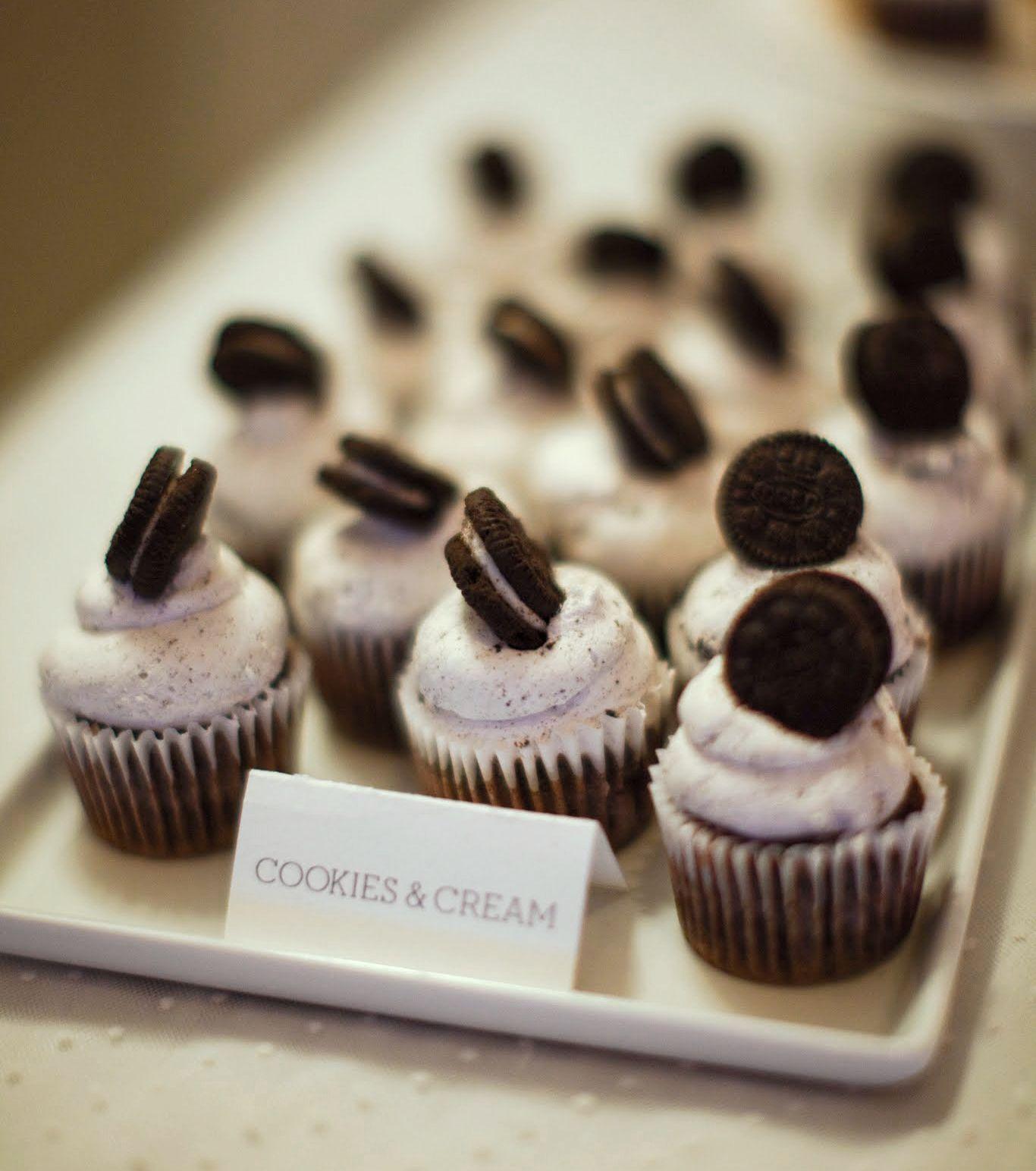 Mini Oreo Cupcakes Wedding Outerbanks Dessert