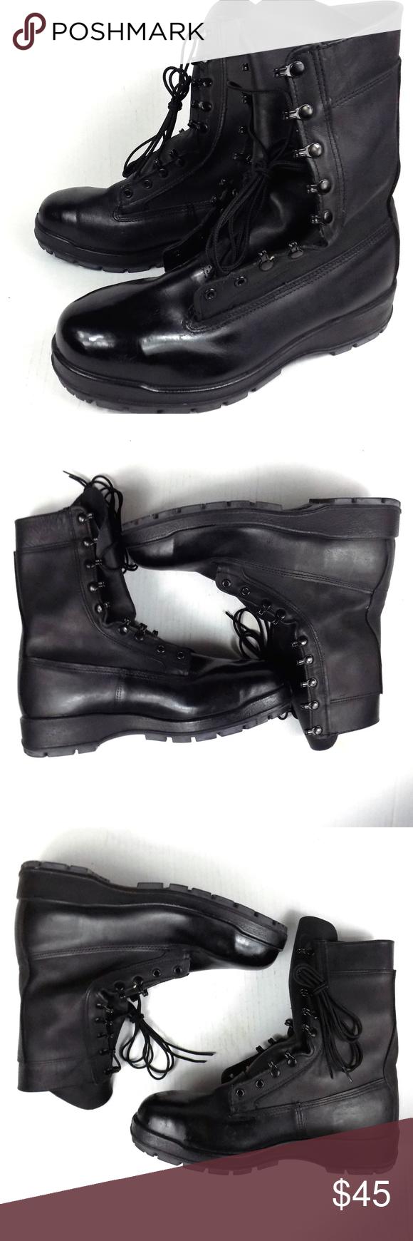 Belleville Steel Toe Boots Military Combat Mens 12