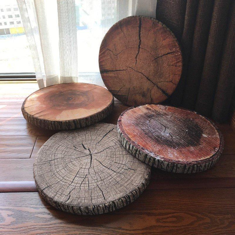 Cushioned Tree Bark Pillow #inspireuplift explore Pinterest