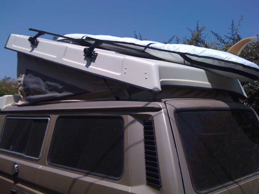Samba Discussion On What Thule Parts Needed To Mount On Roof Vw Van Vw Westfalia Thule