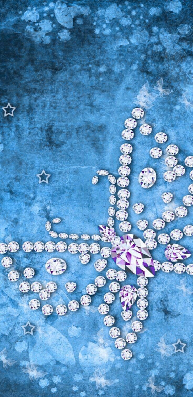Butterfly elegant | Butterfly wallpaper, Bling wallpaper ...