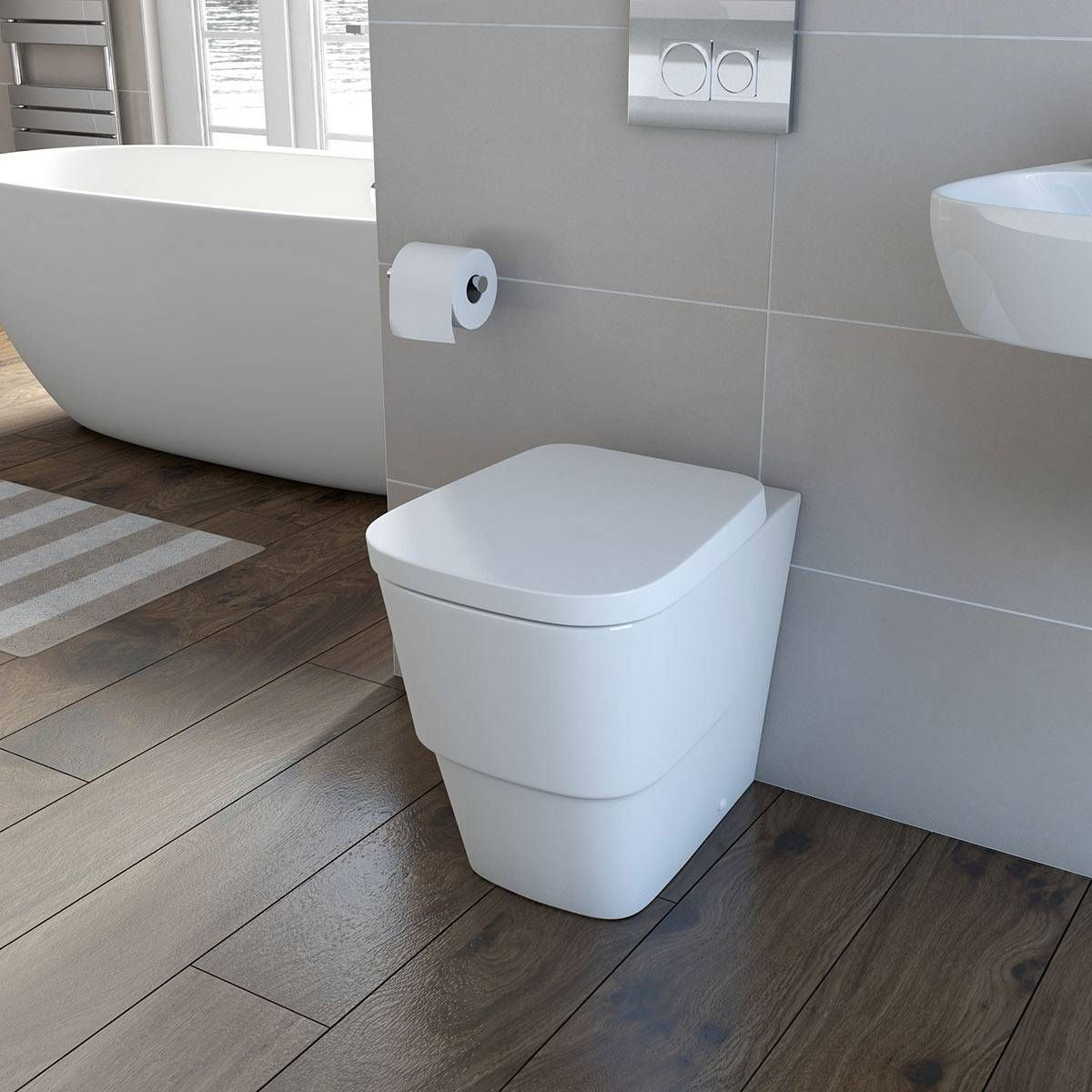 Bathroom Accessories Victoria Plumb victoria plumb - princeton back to wall toilet inc luxury soft