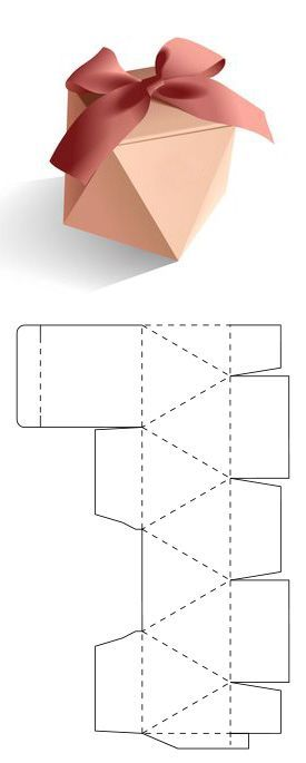 Caja de triángulos para regalo, #caja #jewelrypackageempaquejoyeria #para #regalo #triángulo...