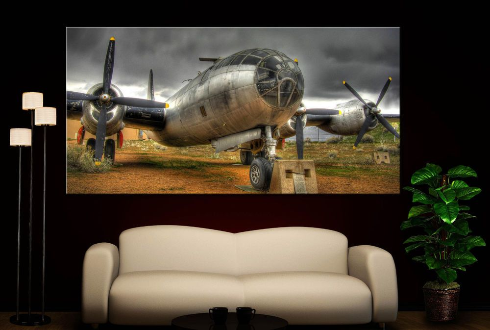 Airplane Propeller Canvas Print Wall Art Prints Aircraft Propellers Home Decor 2