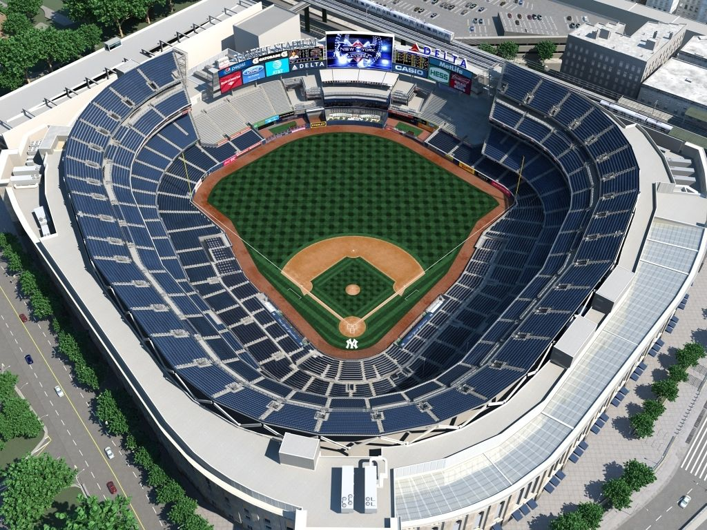 Yankee Stadium Seating Chart Rows New York Yankees New York