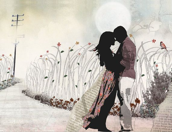 Large Wall Art Love Painting Love Couple Paintings The Kiss