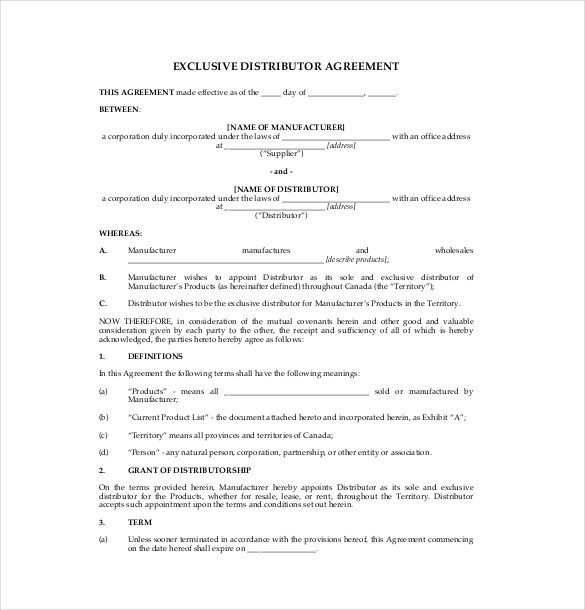agreement templates termination letter reseller appointment with - sample reseller agreement template