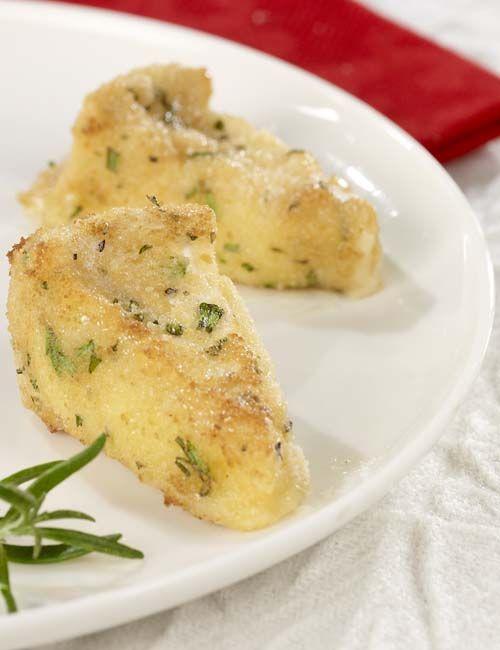 Gepaneerde kaasjes met rozemarijn - Colruyt Culinair !