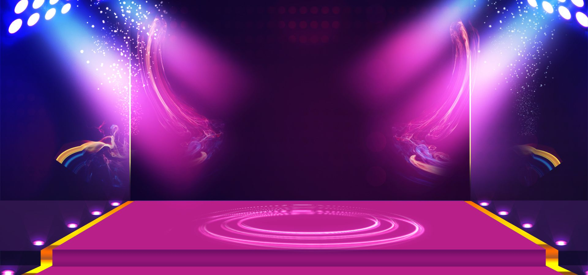 Lynx Cool Atmosphere Purple Stage Background Banner Beam ...