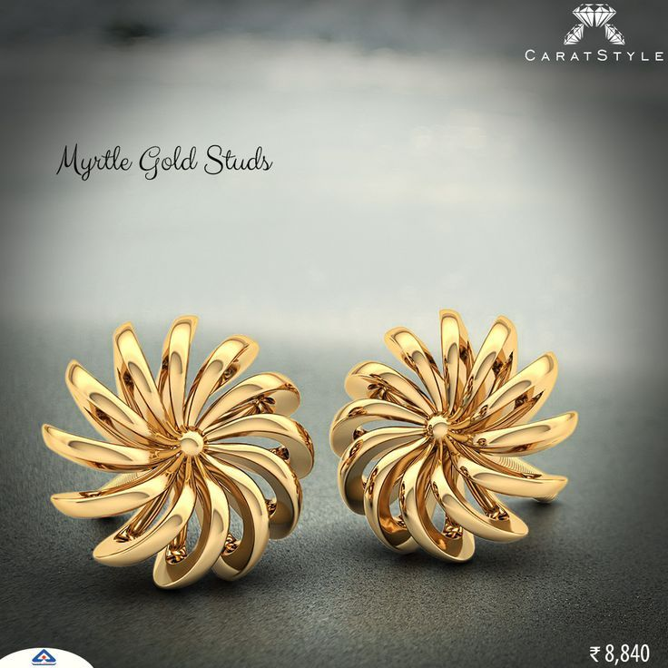 Style is what you choose! #gold #earrings | Asha | Pinterest ...