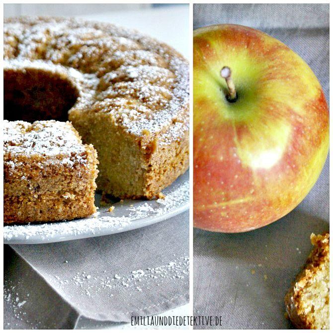 Rezept: Saftiger Apfelmuskuchen - prima Picknick Kuchen ...