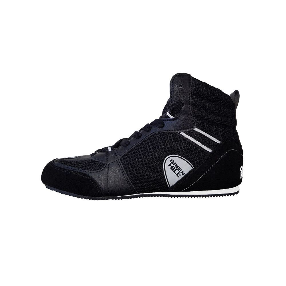 Green Hill Black Boxing Boots (PS006