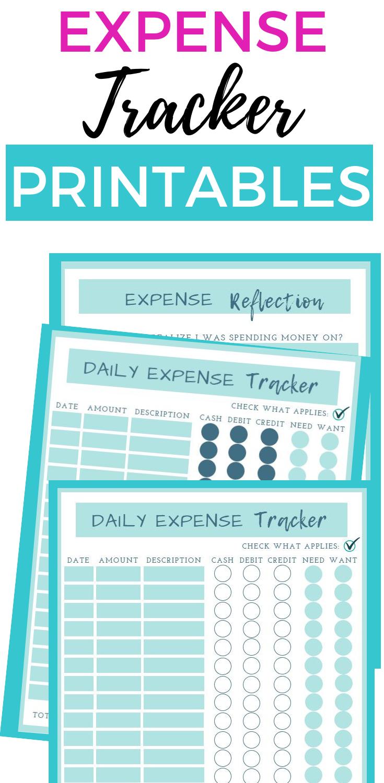 daily expense tracker expense tracker money tracker spending