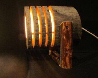 Lámpara de madera lámpara colgante hecha por Scandinavicwoodworks