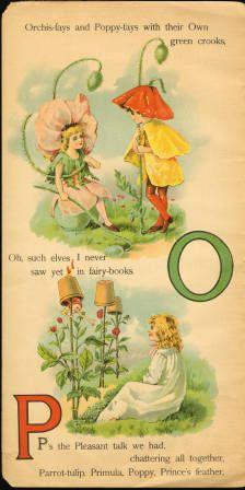 All About the Fairies ABC; 1901 :: de Grummond Books