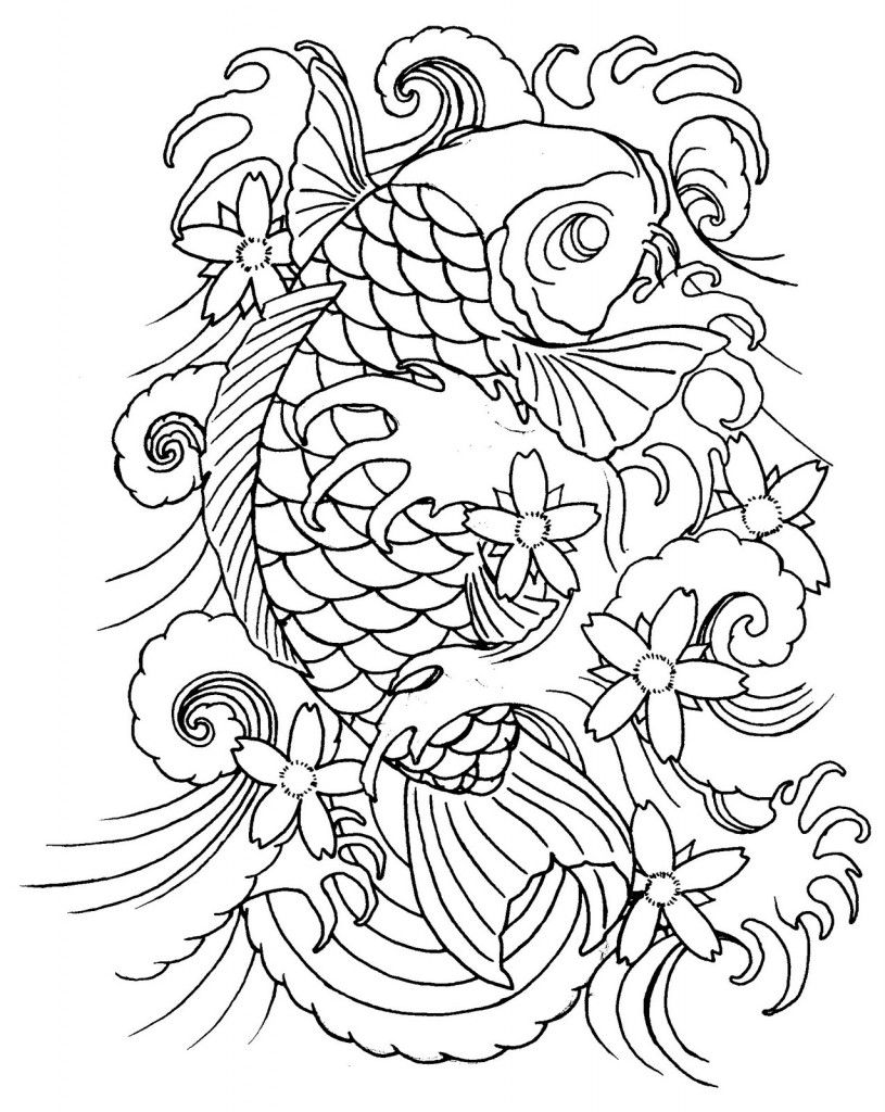 Japanese Koi Tattoo Koi Tattoo Sleeve Koi Fish Tattoo Japanese Fish Tattoo