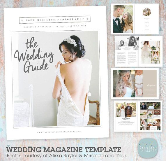 Wedding Photography Magazine 33 Page Welcome Guide Pg020 Wedding Photography Magazine Template Wedding Photography Magazine Photography Magazine Template