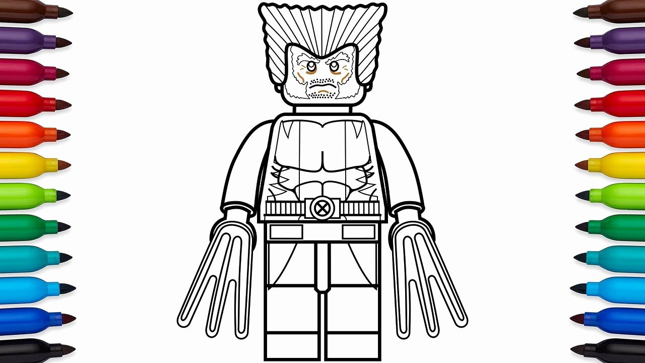 Lego Marvel Superheroes Printable Coloring Pages Beautiful Lego Wolverine Coloring Pages In 2020 Avengers Coloring Avengers Coloring Pages Superhero Coloring Pages