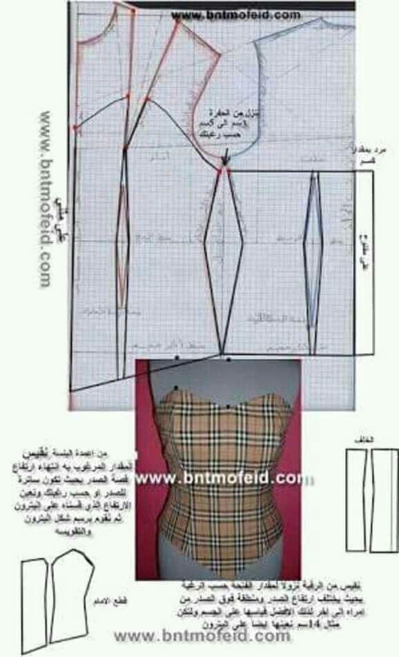 Pin de Be Covarrubias en vestidos | Pinterest | Costura, Patrones de ...