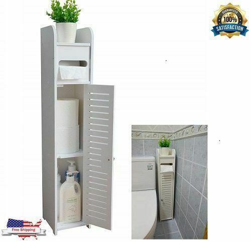 aojezor small bathroom storage corner floor cabinet with