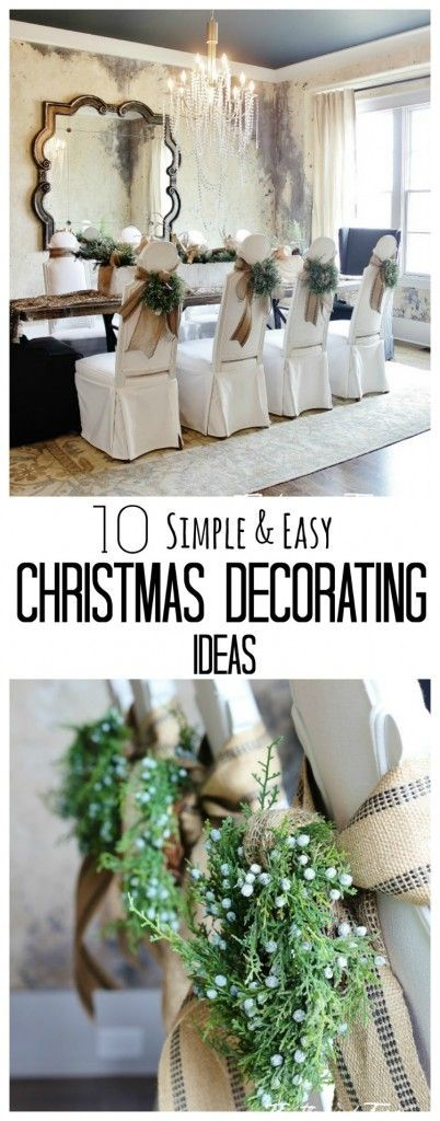 Looking for decorating ideas for Christmas? Here\'s 10 Simple ...
