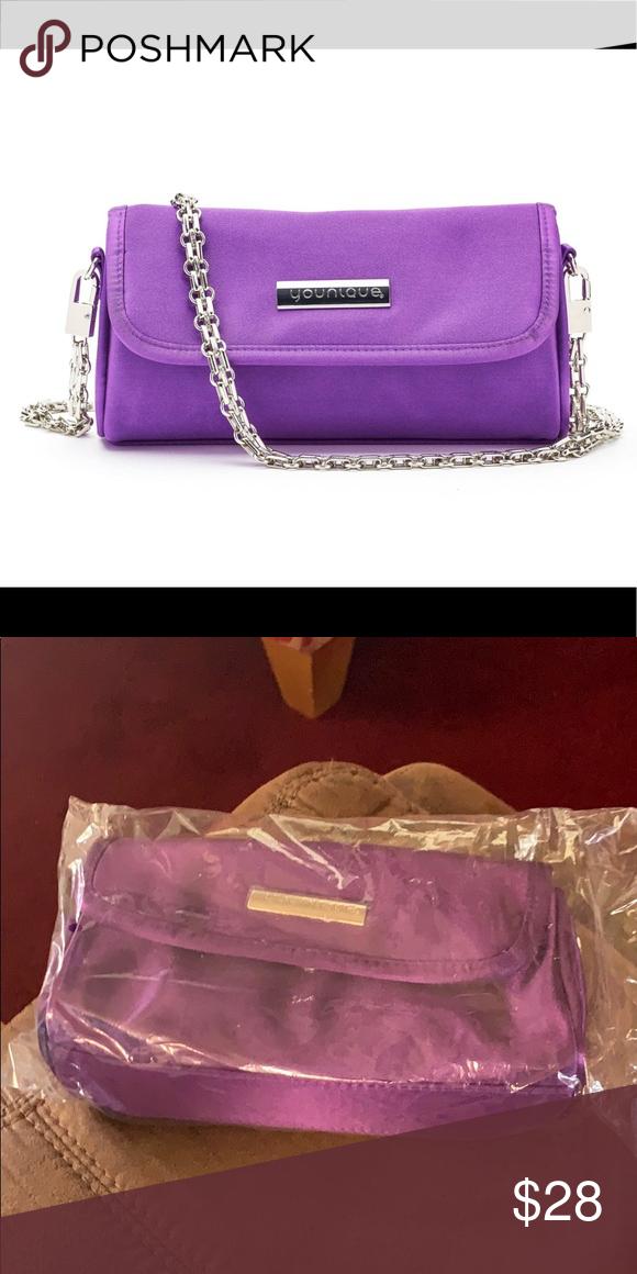 Younique makeup bag Boutique Purple handbags, Bags