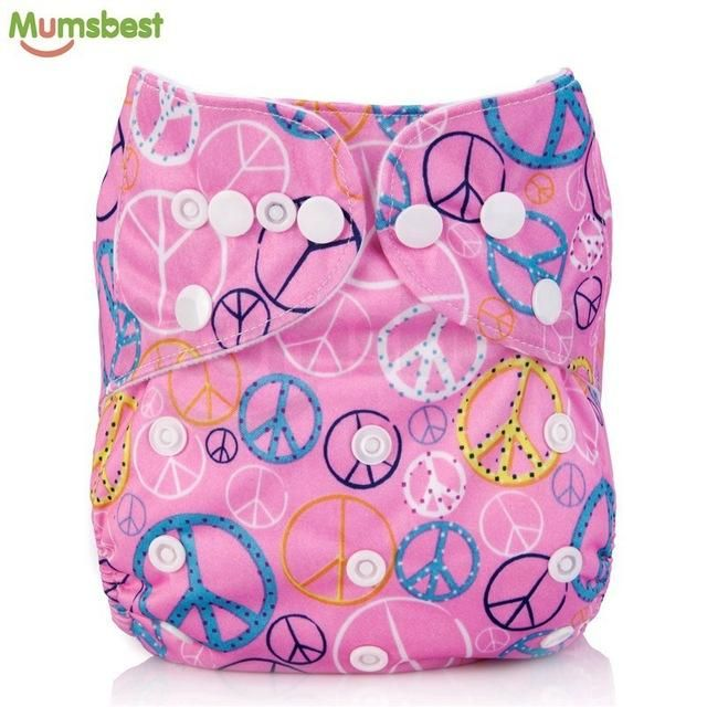 626440237  Mumsbest  2017 Washable Baby Cloth Diaper Cover Waterproof Cartoon Owl Baby  Diapers Reusable Cloth Nappy Suit 0-2years 3-13kg