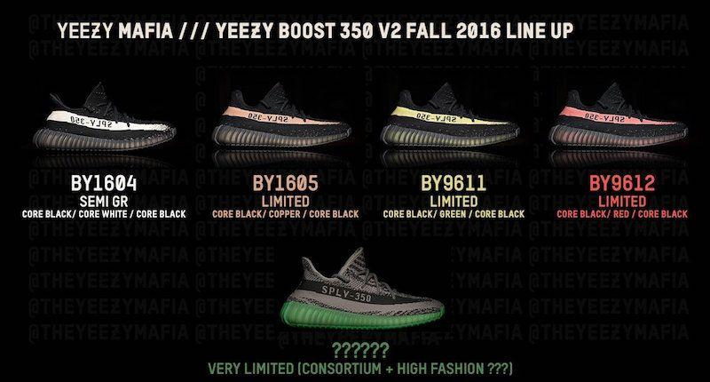 Yeezy Boost 350 V2 Colorways   STYL3Z Guide   Yeezy, Adidas