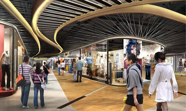 Central Department Store After Renovation In September 2011 Shopping Mall Interior Shopping Mall Design Mall Design
