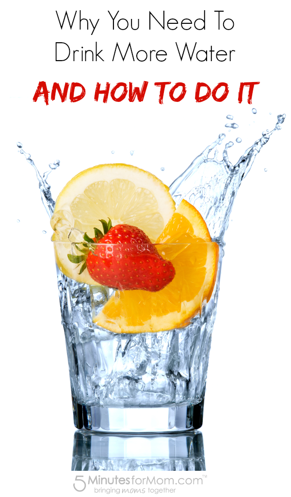 Why You Need To Drink More Water and How To Do It #health #fitness #water #healthyliving