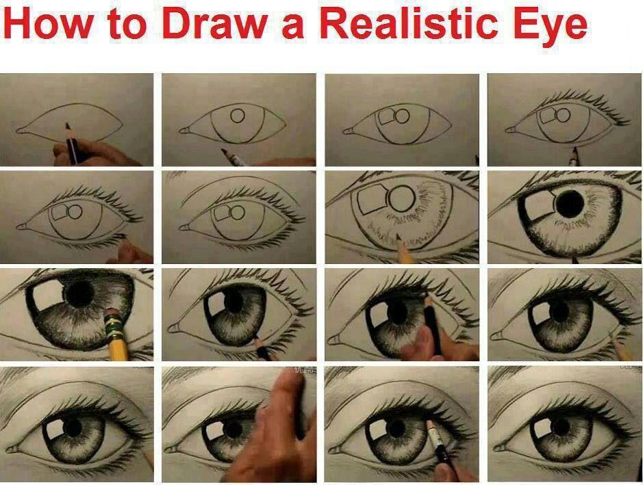 Hand Drawn Realistic Eye Eye Drawing Eye Art Realistic Eye