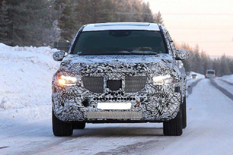 SPIED 2020 Mercedes GLS Redesign, AMG 63, Interior