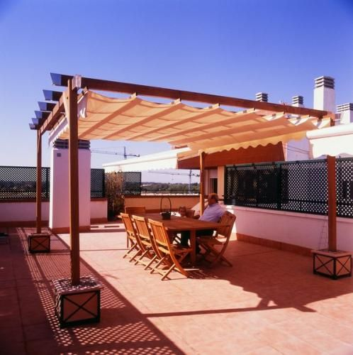 resultado de imagen de pergola terraza - Pergolas Terraza