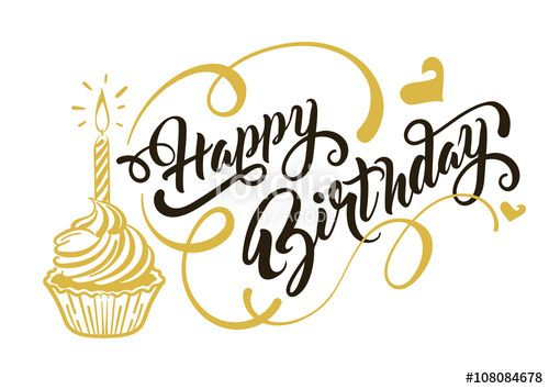 Set vector design elements 5 Design elements and Vector design - happy birthday word template
