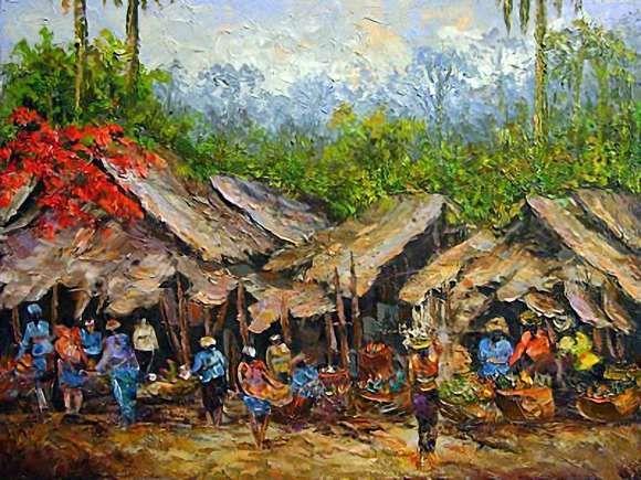 Aliran Senirupa Di Indonesia Seni Rupa Lukisan Abstrak Lukisan Seni Rupa