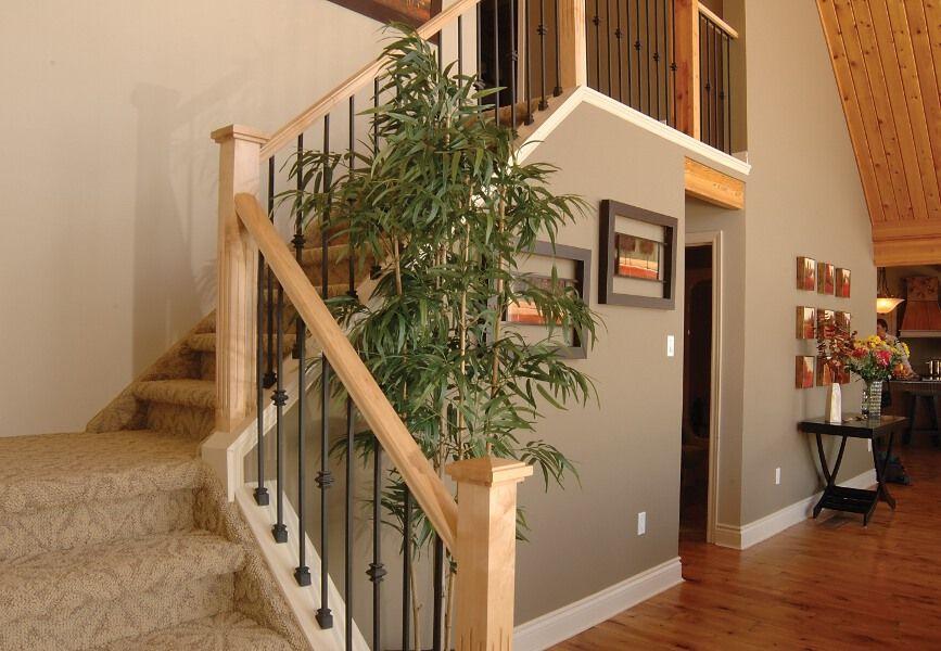 Craftsman Stair Railings Stairs And Photo Gallery Look Inside Linwood Homes