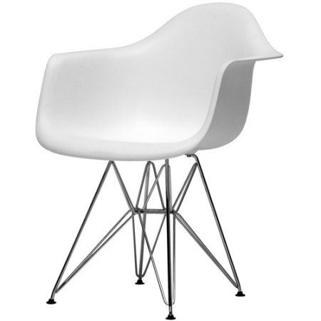 walmart white plastic chairs lycra chair covers for sale baxton studio dario molded products