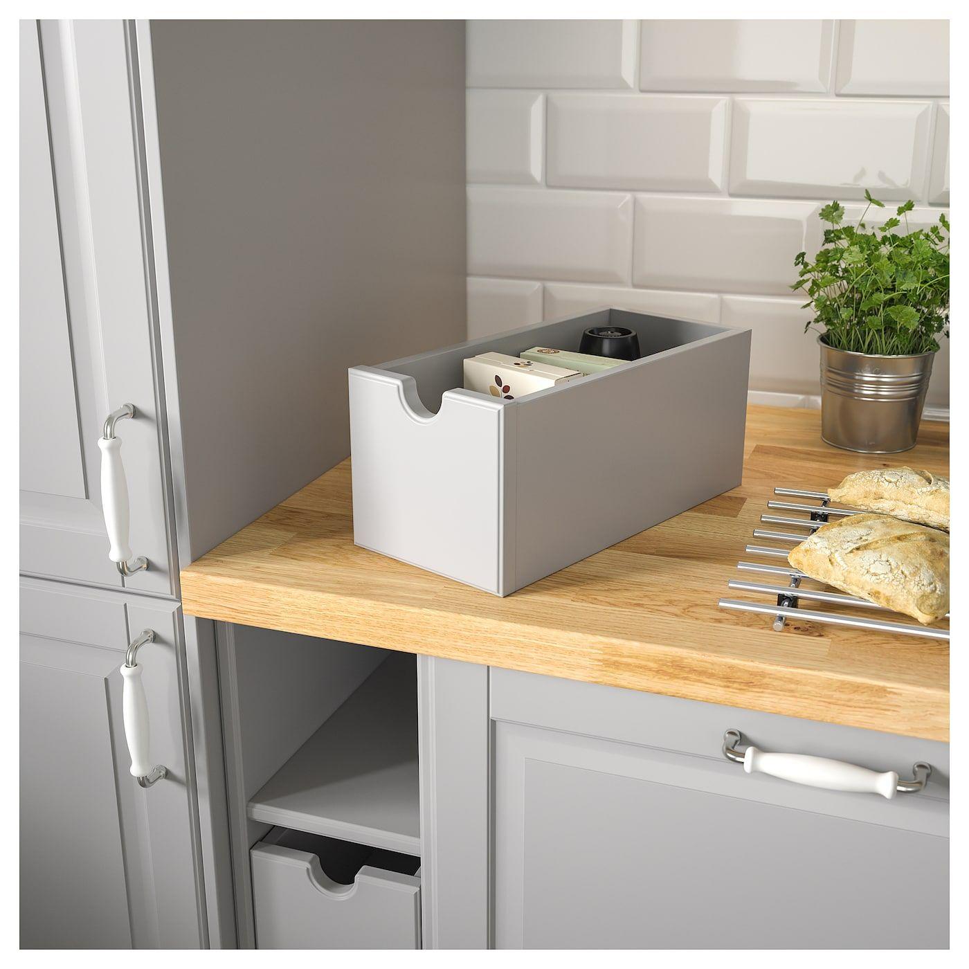 Tornviken Box Grau Arbeitsplatte Ikea Und Grau