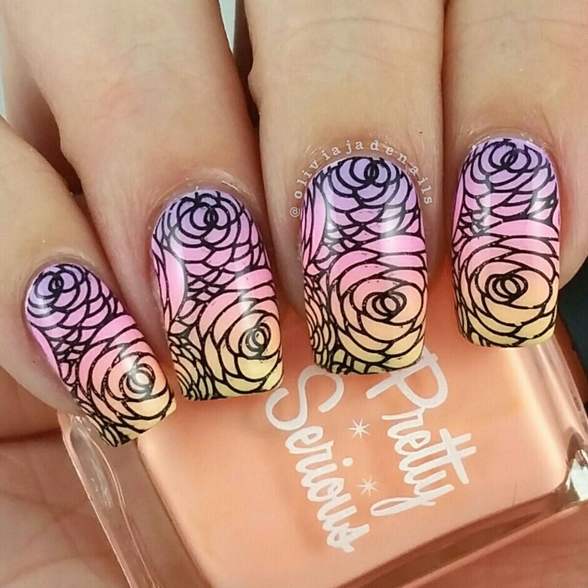 Uberchic Beauty Collection Nine Stamping Plates - Swatches & Review by Olivia Jade Nails