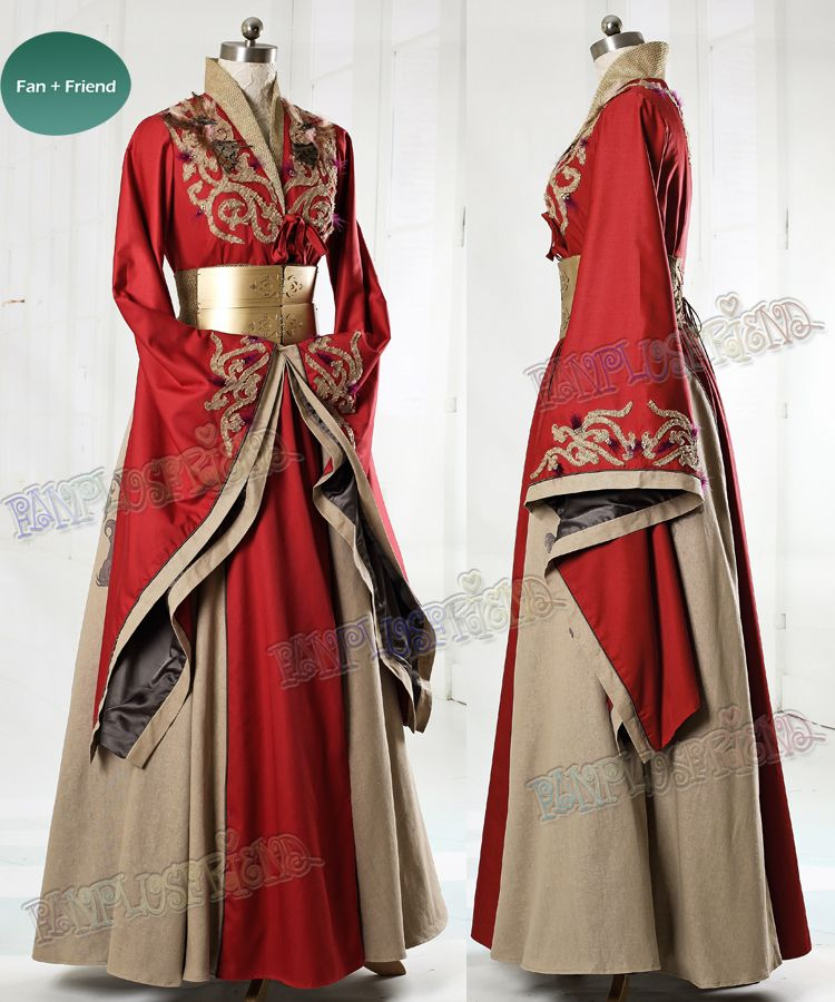 fanplusfriend - Game of Thrones (TV Series) Cosplay Cersei Lannister Costume Dress, $461.29 (http://www.fanplusfriend.com/game-of-thrones-tv-series-cosplay-cersei-lannister-costume-dress/)