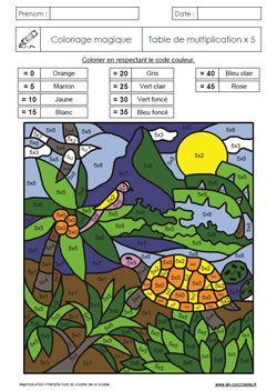 Coloriage Magique Soustraction Cp Coccinelle.Les Coccinelles Fiches D Exercices Pour L Ecole Gs Cp Ce1 Ce2