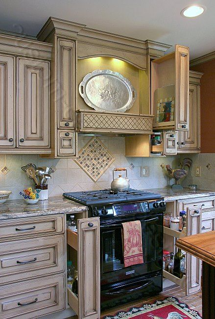 Best Build Your Own Distressed Kitchen Cabinets Custom Made 640 x 480