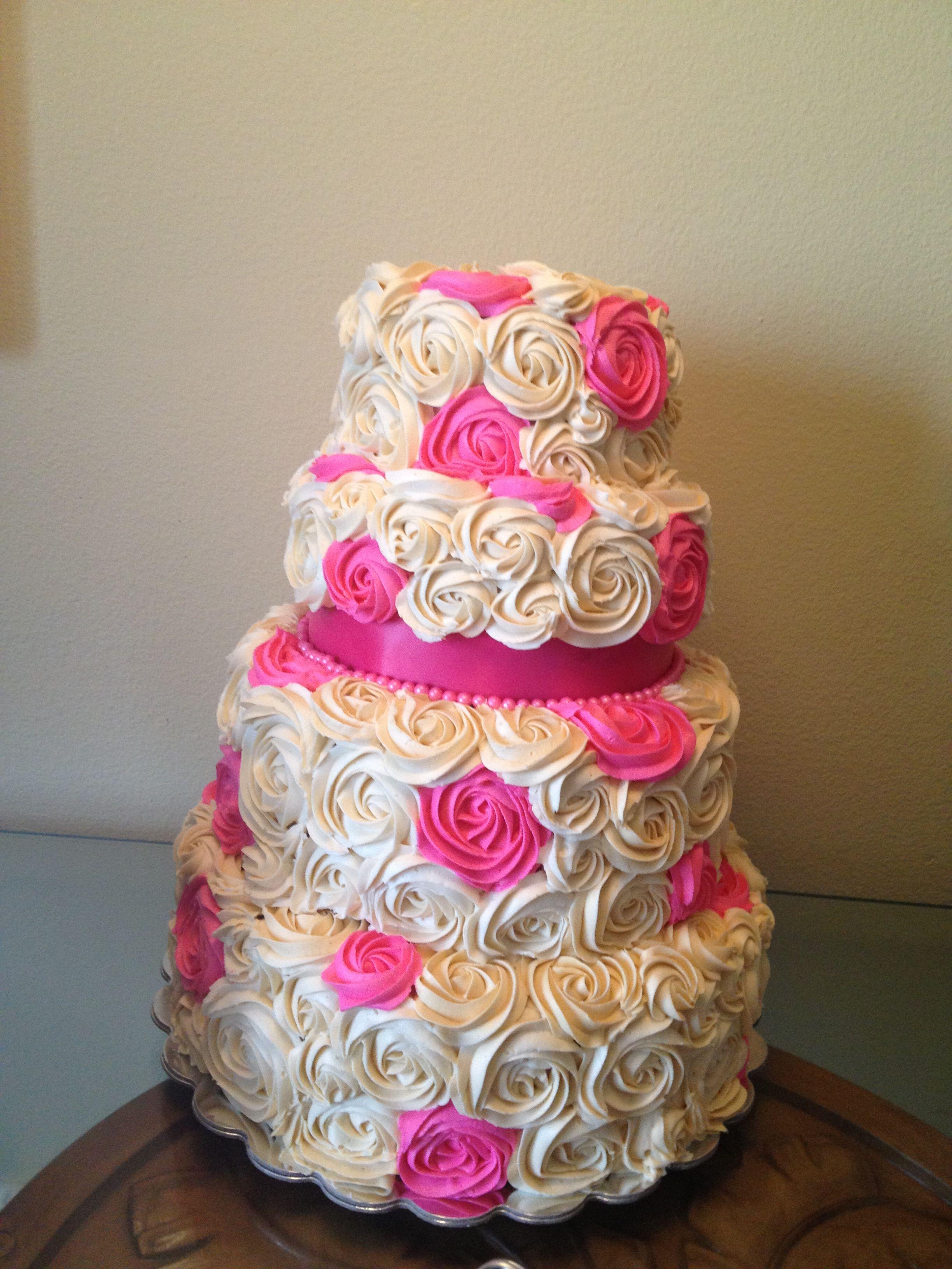 35++ Purple decorated wedding cakes ideas