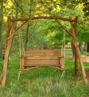 Bon Rustic Garden Swing For Ximena