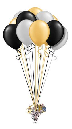 Balloon Umbrella (16 Balloons) hand delivered by balloonplanet.com