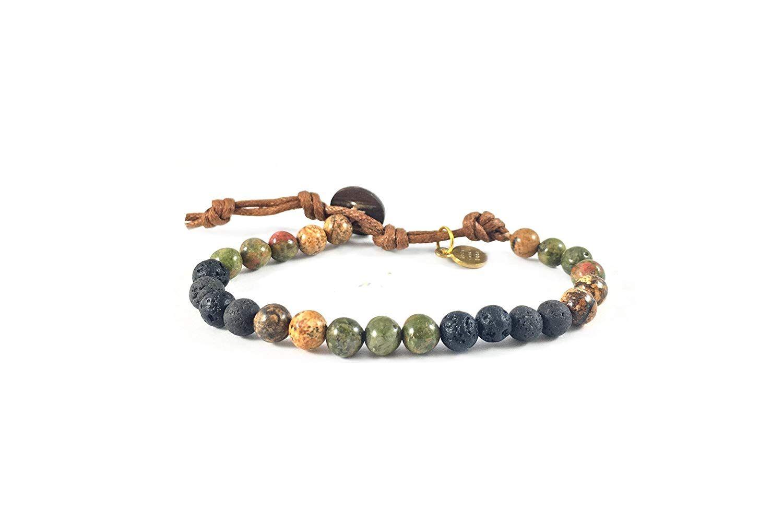 Sincere Fashion New Brand Design Natural Stone Braclets Silver Plated Elephant Bracelets Green Beads Stretch Bracelet For Women Gift Charm Bracelets