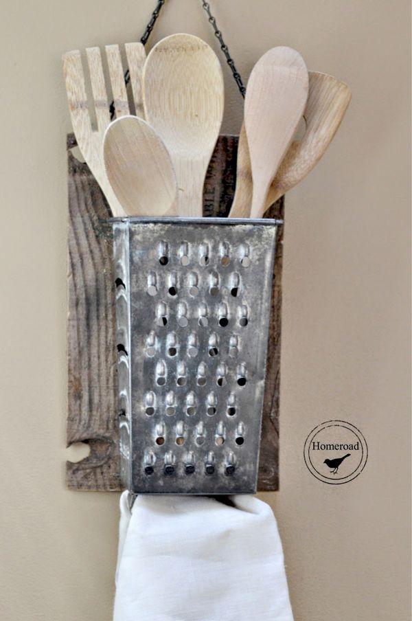 13+ Ideas Creativas para Reciclar Rallador Cocina | Cobre, Pintar y ...
