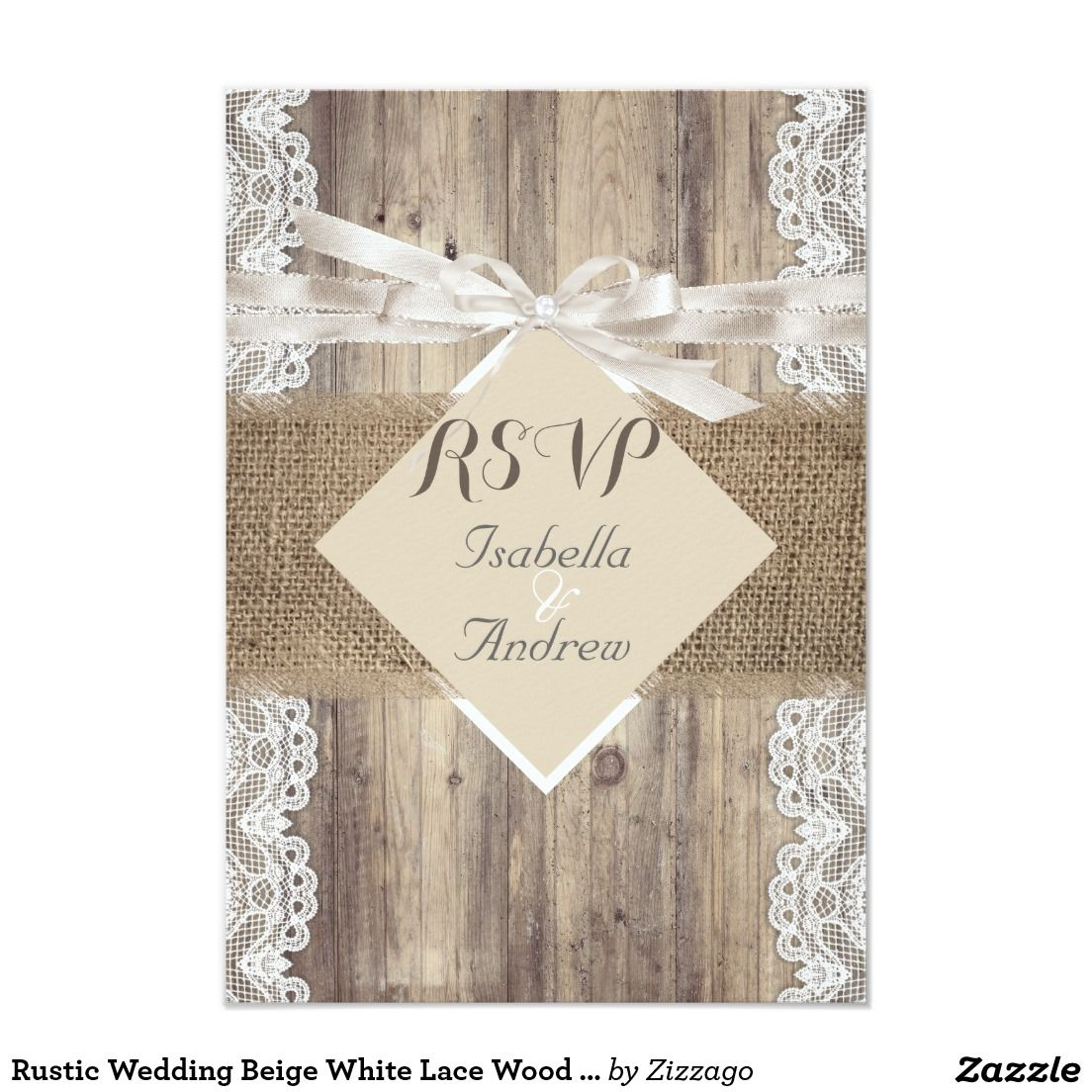 Rustic country burlap string lights lace wedding card - Rustic Country Burlap String Lights Lace Wedding Card 7